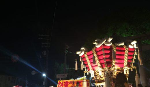 百舌鳥八幡宮のお祭り