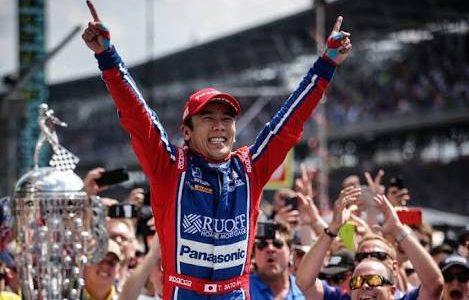 佐藤琢磨選手のインディー500の制覇に感動しちゃいました