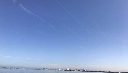日曜参観の代休で長男と琵琶湖でバス釣り