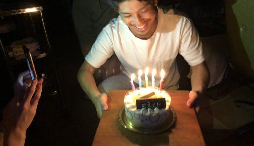 スタッフの誕生日を皆んなでお祝い!スタイリスト米山