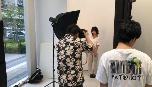 THROW×mm×大人髪スタイルのヘアカタログ撮影