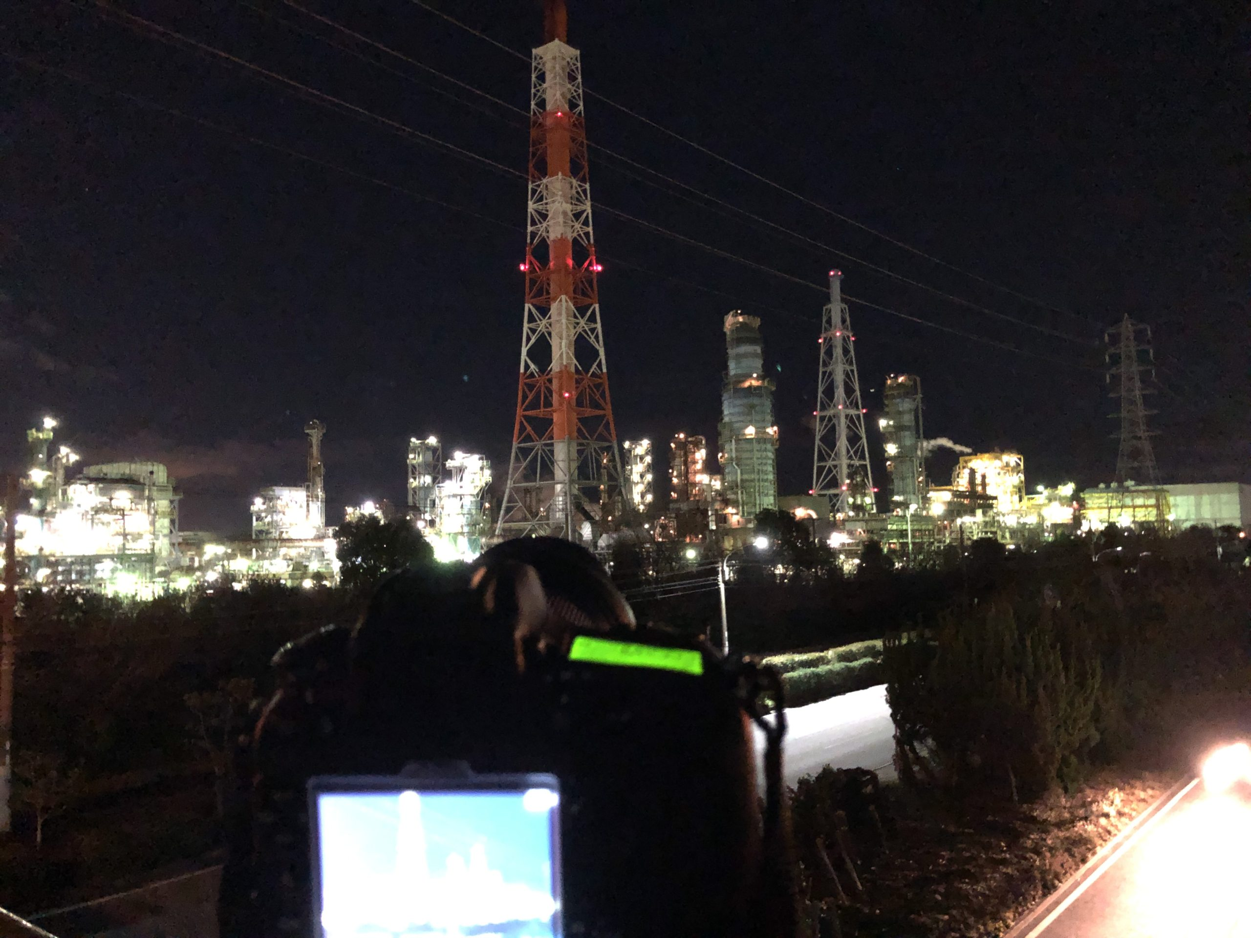 カメラを学ぶ📸臨海工業地帯で工場夜景にチャレンジ🏭