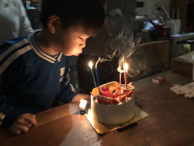 子供の誕生日会🎂