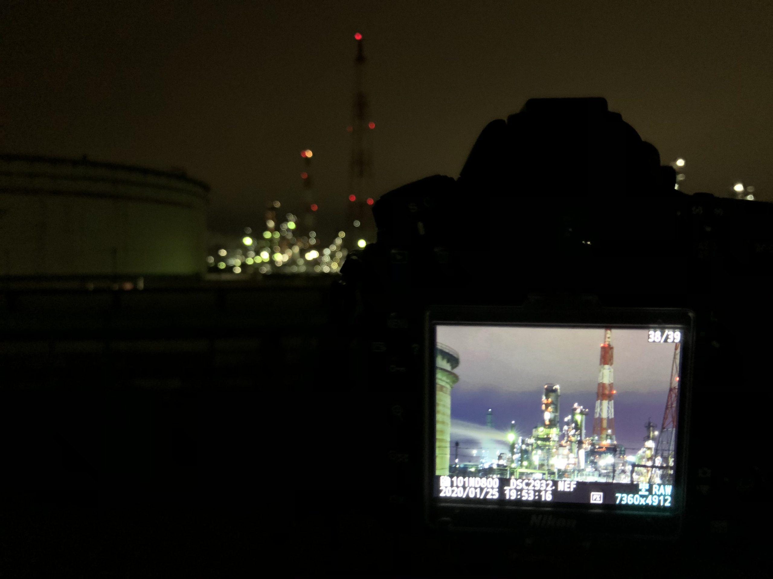 工場夜景🏭再チャレンジ📸