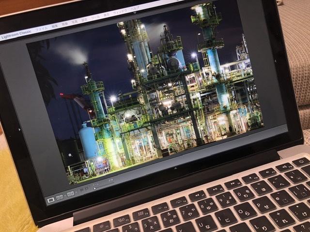 工場夜景🏭撮影📸滞在時間30分